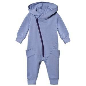 Image of Gugguu Unisex All in ones Blue College Jumpsuit Ice Blue/Astral Aura
