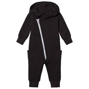 Image of Gugguu Unisex All in ones Black College Jumpsuit Black/Dabble Grey