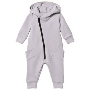 Image of Gugguu Unisex All in ones Grey College Jumpsuit Dabble Grey/Black