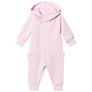 Image of Gugguu Girls All in ones Pink College Jumpsuit Fragrant Lilac/White Smove