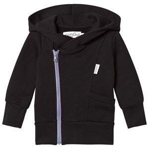 Gugguu Unisex Jumpers and knitwear Black College Hoodie Black/Ice Blue