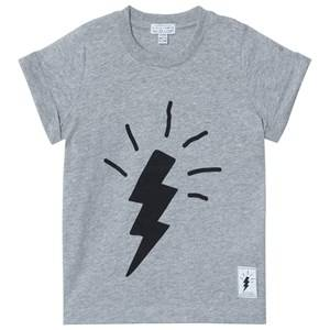 Civiliants Boys Commission Tops Grey Flash Tee Grey Melange