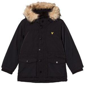 Scott Lyle & Scott Boys Fleeces Black True Black Micro Fleece Lined Jacket