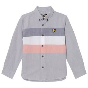 Scott Lyle & Scott Boys Tops Grey Grey Yarn Dye Stripe Shirt