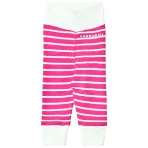 Geggamoja Girls Bottoms Pink Premature Baby Pant Cerise/Mint
