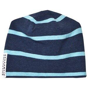 Geggamoja Boys Headwear Blue Hat Marine/Turquoise