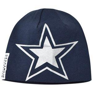 Geggamoja Boys Headwear Blue Reflex Hat Marine