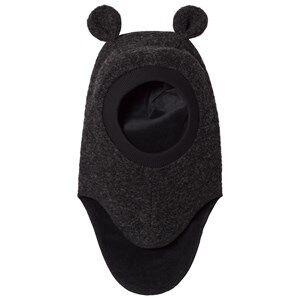 Huttelihut Unisex Headwear D.grey Elefanthut with Ears Dark Grey