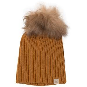 Huttelihut Unisex Headwear Curry Knithut Rib Hat Curry