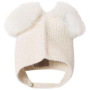 Huttelihut Unisex Headwear Off white Crocheted Hat Off white