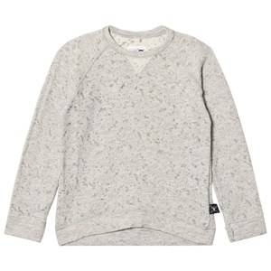 NUNUNU Unisex Jumpers and knitwear Grey Deconstructed Sweatshirt Light Grey