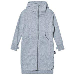 NUNUNU Unisex Jumpers and knitwear Grey Maxi Zip Hoodie Heather Grey