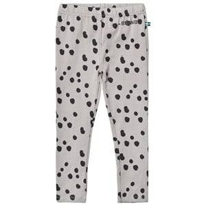 The BRAND Girls Private Label Bottoms Grey Leggings Grey Dot