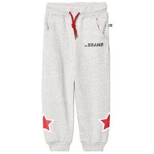The BRAND Boys Private Label Bottoms Grey Star Sweatpants Grey Melange