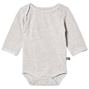 The BRAND Unisex Private Label All in ones Grey Fringe Baby Body Grey