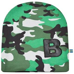 Image of The BRAND Unisex Private Label Headwear Green Light Camo Hat