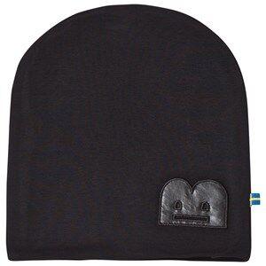 The BRAND Unisex Private Label Headwear Black B-Moji Hat Black