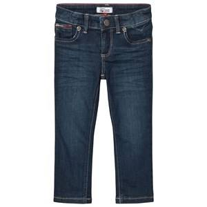 Tommy Hilfiger Boys Bottoms Navy Scanton Denim Slim Fit Jeans