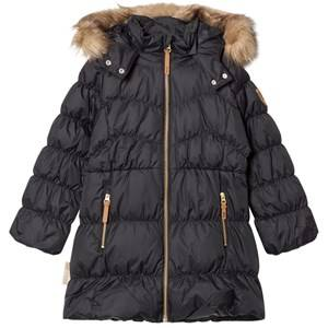 Ticket to heaven Girls Coats and jackets Black Padded Jacket Martha with Detachable Hood Jet Black