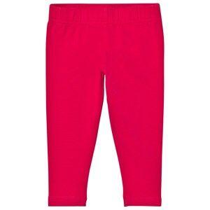 Lands End Girls Bottoms Pink Hot Pink Ankle Leggings