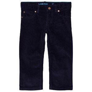 Lands End Boys Bottoms Navy 5 Pocket Corduroy Pants