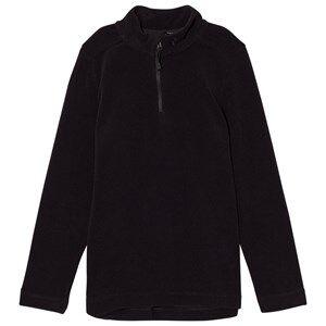 Peak Performance Unisex Coats and jackets Black Black Micro Fleece Zip Jacket