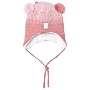 Reima Girls Headwear Pink Sammal Beanie Dusty Rose