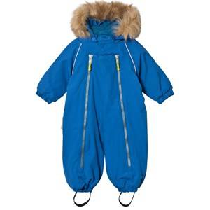 Ticket to heaven Unisex Coveralls Blue Snowsuit Baggie with Detachable Hood Skydiver