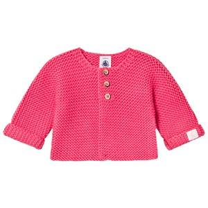 Image of Petit Bateau Girls Jumpers and knitwear Pink Cardigan Gloss Pink