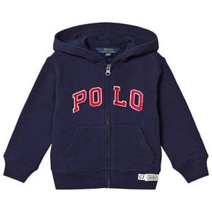 Ralph Lauren Boys Jumpers and knitwear Blue Blue Polo Zip Hoody with Small Polo Player