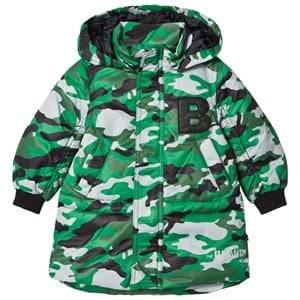 Image of The BRAND Unisex Private Label Coats and jackets Green Puff Parka Light Camo