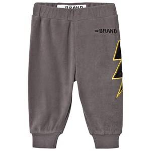 The BRAND Unisex Private Label Fleeces Grey Bolt Fleece Pants Graphite Grey