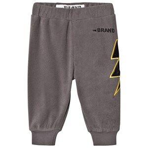 The BRAND Unisex Private Label Fleeces Grey Bolt Fleece Pants Graphite Grey