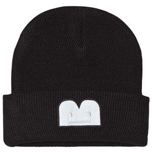 The BRAND Unisex Private Label Headwear Black B-Moji Knit Hat Black