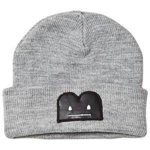 The BRAND Unisex Private Label Headwear Grey B-Moji Knit Hat Grey