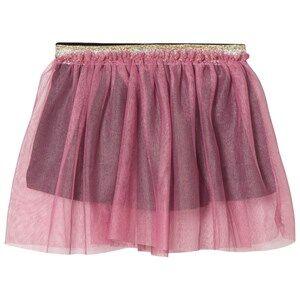 Småfolk Girls Skirts Pink Pink Tulle Skirt