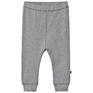Småfolk Unisex Bottoms Grey Grey Basic Jersey Sweatpants
