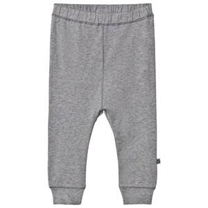 Småfolk Unisex Bottoms Grey Grey Basic Jersey Sweatpants