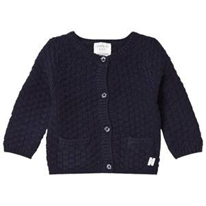 Image of Carrément Beau Girls Jumpers and knitwear Navy Navy Knit Cardigan