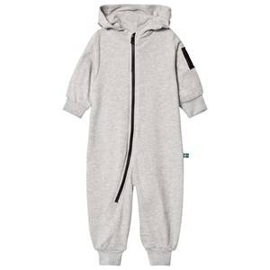 The BRAND Unisex Private Label Bottoms Grey Bolt Onesie Grey Melange