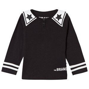 The BRAND Girls Private Label Tops Black Dream Collar Tee Black