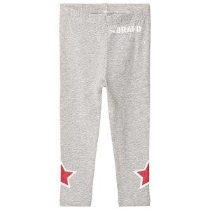 The BRAND Girls Private Label Bottoms Grey Star Legging Grey Melange