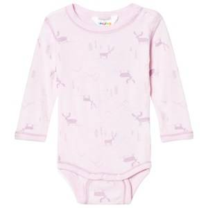 Joha Unisex All in ones Pink Baby Body Long Sleeve Pink