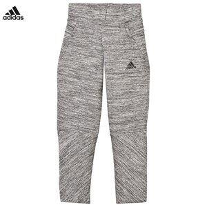 adidas Performance Girls Bottoms Grey Girls Grey Zone Sweatpants