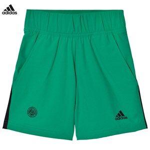 adidas Performance Boys Shorts Green Green Roland Garros Tennis Shorts