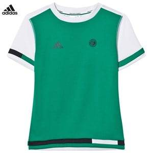 adidas Performance Boys Tops Green Green Roland Garros Tennis Tee