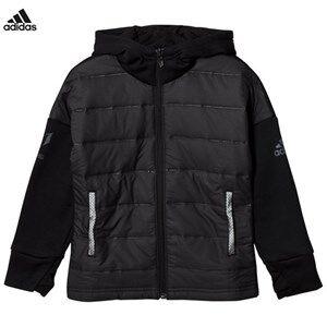 adidas Performance Boys Coats and jackets Black Black Messi Zip Jacket