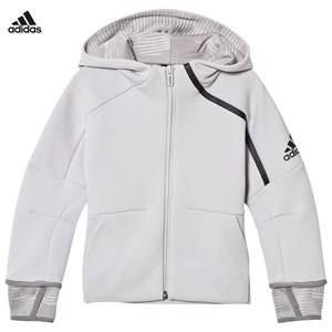 adidas Performance Boys Jumpers and knitwear Grey Zone 2 Pulse Hoodie Grey