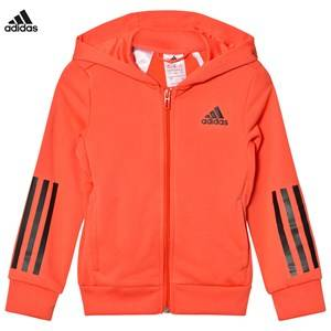 adidas Performance Girls Jumpers and knitwear Orange Coral Training Full Zip Hoodie