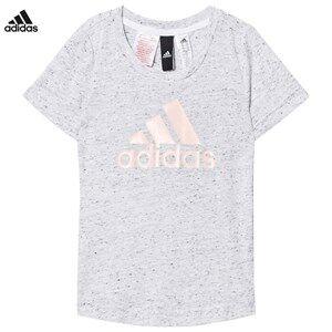 adidas Performance Girls Tops White White/Black ID Tee